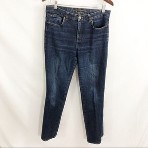 Ralph Lauren Jeans Size 10 Dark Wash Straight Leg